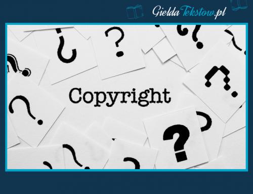 Copywriting, a prawo autorskie- o czym musisz wiedzieć?
