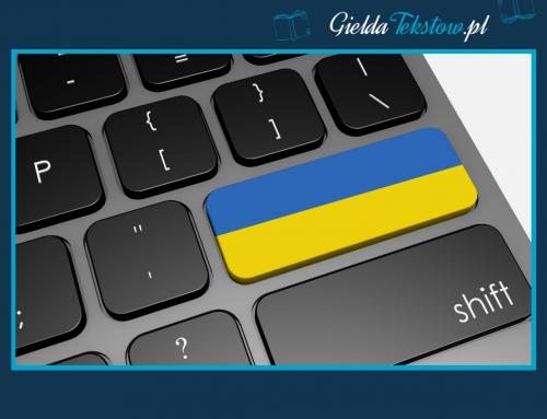 Copywriter z językiem ukraińskim, czyli Giełda Tekstów nie tylko po polsku